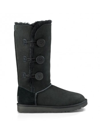 UGG Bailey Button Triplet Black II Черные