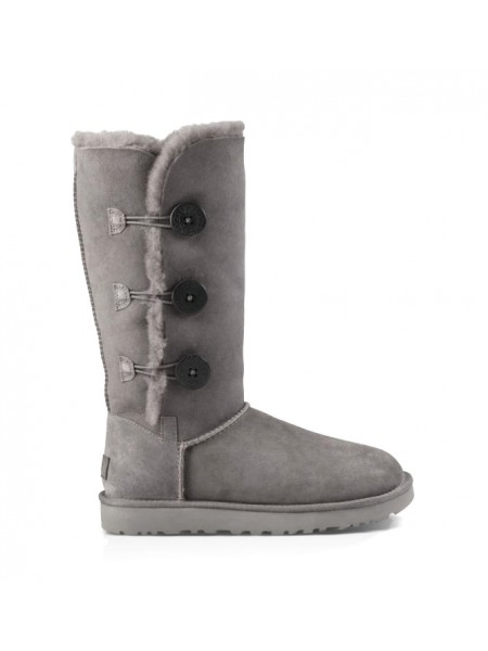 UGG Bailey Button Triplet Grey II Непромокаемые