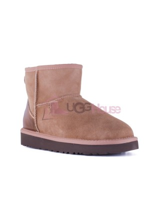 UGG Womens Classic Mini II Metallic Slate