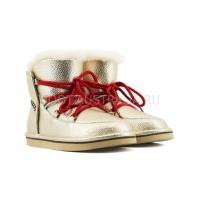Женские Ботинки UGG Lodge Mini - Золотые